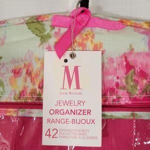Isaac Mizrahi Accessories - Isaac Mizrahi Hanging 42 pocket jewelry organizer